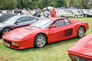 Ferrari Testarossa 1990 - Automania 2017, Edling les Anzeling, Hara du Moulin