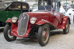 Fiat 508 Balilla S 1936 - Cité de l'automobile, Collection Schlumpf, Mulhouse, 2020