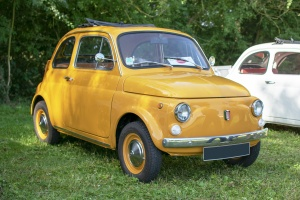 Fiat Nuova 500 L 1971 - Automania 2019, Edling les Anzeling, Hara du Moulin