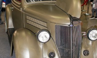 Ford De Luxe Coupe 1939 Hotrod - Luxembourg Motor Show 2018