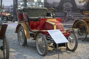 Georges Richard série E tonneau 1897 - Cité de l'automobile, Collection Schlumpf, Mulhouse, 2020