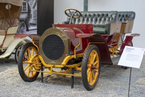 Gladiator 12 HP double phaëton 1907 - Cité de l'automobile, Collection Schlumpf, Mulhouse, 2020