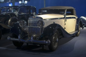 Hispano-Suiza K6 Van Vooren Cabriolet 1932 - Cité de l'automobile, Collection Schlumpf 2020