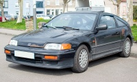 Honda Civic IV CRX - Country Day 2019 Aumetz