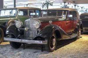Horch 12 670 Cabriolet 1932 - Cité de l'automobile, Collection Schlumpf 2020