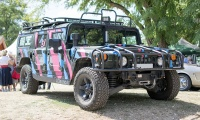 Hummer H1 - Rêve américain, Balastière Meeting, Hagondange, 2019