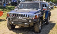 Hummer H3 - American Roadrunners 2018, Stadtbredimus