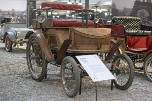 Hurtu dos à dos 1897 - Cité de l'automobile, Collection Schlumpf, Mulhouse, 2020