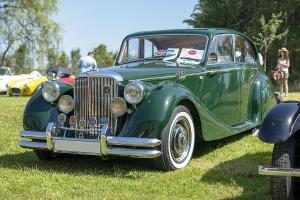 Jaguar Mark V 1950 - Automania 2019, Edling les Anzeling, Hara du Moulin