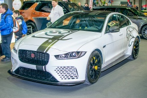 Jaguar XE SV Project 8 - Luxembourg Motor Show 2018