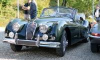Jaguar XK140 - Automania 2017, Manderen, Château de Malbrouck