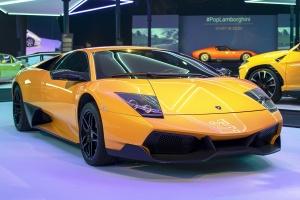 Lamborghini Murciélago LP 670-4 SV - Cité de l'automobile, Collection Pop Lamborghini, 2020