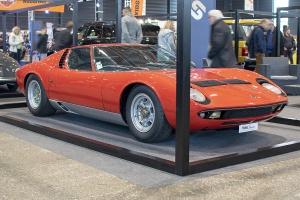 Lamborghini Miura P400S 1969 - Salon ,Auto-Moto Classic, Metz, 2019