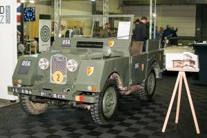 Land Rover Minerva 1952 - LOF, Autotojumble, Luxembourg, 2019