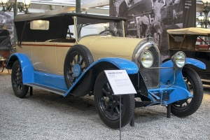 Lorraine-Dietrich B3-6 torpedo 1923 - Cité de l'automobile, Collection Schlumpf, Mulhouse, 2020