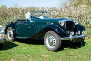 MG TD Midget Mark II - LOF Oldtimer Breakfast Mamer 2019