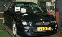 MG ZR 1600 2002 - LOF, Autotojumble, Luxembourg, 2019