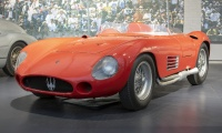 Maserati 300S Biplace Sport 1955 - Cité de l'automobile, Collection Schlumpf 2020