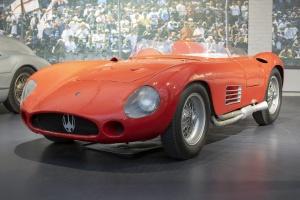 Maserati 300S Biplace Sport 1955 - Cité de l'automobile, Collection Schlumpf 2020