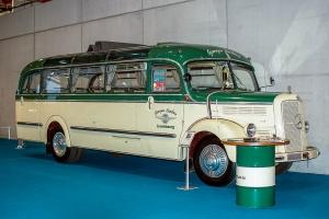 Mercedes-Benz O321 1962 - LOF, Autotojumble, Luxembourg, 2019