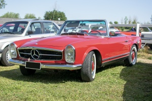 Mercedes-Benz SL W113 Pagode - Automania 2019, Edling les Anzeling, Hara du Moulin