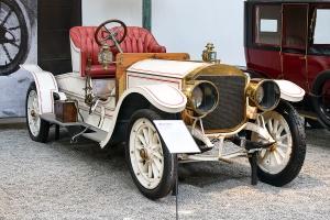 Mercedes 37/70 1906 - Cité de l'automobile, Collection Schlumpf