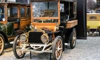 Mors type N Tonneau fermé 1910 - Cité de l'automobile, Collection Schlumpf