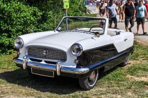 Nash Metropolitan IV 1959 - Retro Meus'Auto 2018, Lac de la Madine