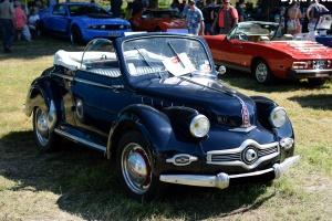 Panhard & Levassor Dyna X cabriolet 1951 - Automania 2016, Château de Freistroff