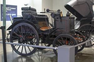 Panhard & Levassor type A P2C n:77 1891 - Cité de l'automobile, Collection Schlumpf, Mulhouse, 2020