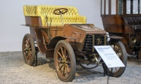 Panhard & Levassor type B 1902 - Cité de l'automobile, Collection Schlumpf 2020