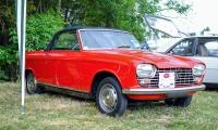 Peugeot 204 cabriolet 1968 - Automania 2017, Edling les Anzeling, Hara du Moulin