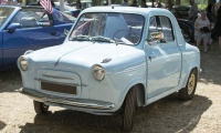 Piaggio Vespa 400 1958 - Rêve américain, Balastière Meeting, Hagondange, 2019