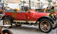 Pilain 4D Tonneau 1910 - Cité de l'automobile, Collection Schlumpf