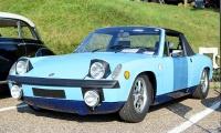 Porsche 914-4 1973 - Automania 2017, Manderen, Château de Malbrouck