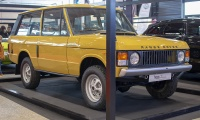 Range Rover I Classic - Salon ,Auto-Moto Classic, Metz, 2019