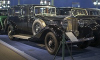 Rolls-Royce Phantom III 1938 limousine - Cité de l'automobile, Collection Schlumpf, Mulhouse 2020