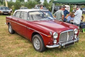 Rover P5B 3.5 coupé 1970 - Retro Meus'Auto 2018, Lac de la Madine