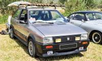 Seat Ibiza I SXI 1989 - Retro Meus'Auto 2018, Lac de la Madine