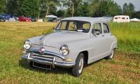 Simca 9 Aronde - Retro Meus'Auto 2018, Lac de la Madine