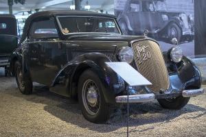 Steyr 220 cabriolet 1938 - Cité de l'automobile, Collection Schlumpf, Mulhouse, 2020