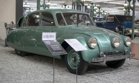 Tatra 87 Limousine 1937 - Cité de l'automobile, Collection Schlumpf 2020