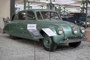 Tatra 87 Limousine 1937 - Cité de l'automobile, Collection Schlumpf 2020