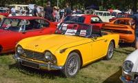 Triumph TR4A IRS 1967 - Automania 2016, Château de Freistroff
