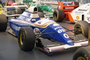 Williams FW15C 1993 F1 Monoplace Course - Cité de l'automobile, Collection Schlumpf